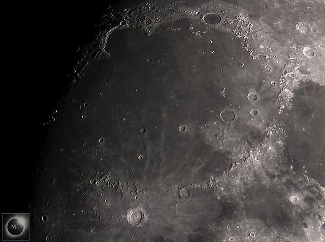 Sinus Iridum, Mare Imbrium & Crater Coppernicus Region 15/02/19