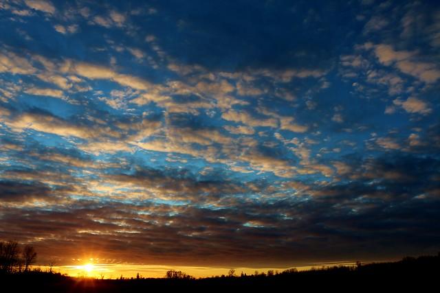 Sundown in Sedro-Woolley