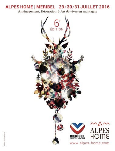 Affiche Alpes Home Méribel 2016