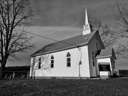 west virginia mineral county buildings structures church religion religious headsville methodist keyser blackwhite bw scenic landscapes georgeneat patriotportraits neatroadtrips