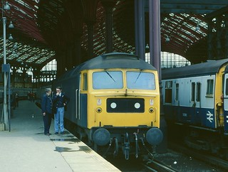 Class 47 at Brighton in 1980 | by Tom Burnham