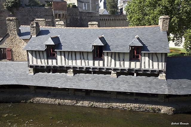 Casas sobre el canal - Vannes