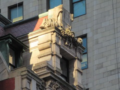New Amsterdam Theatre Window Gargoyle 3721