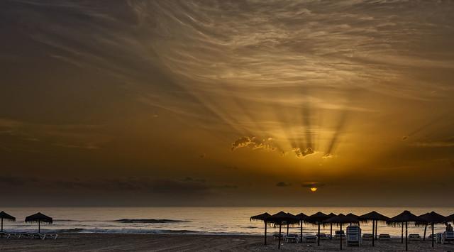 Radiante amanecer