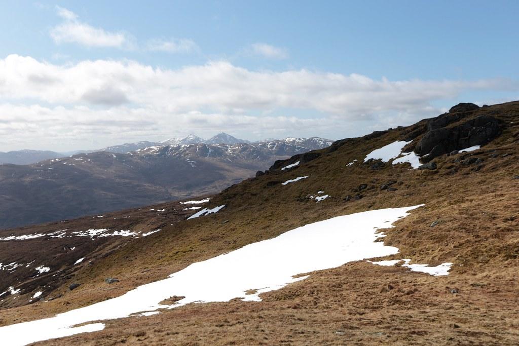 Towards the Crianlarich Hills