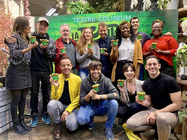 La Tienda de los Horrores - Presentación del elenco del musical (Barcelona, 2019)