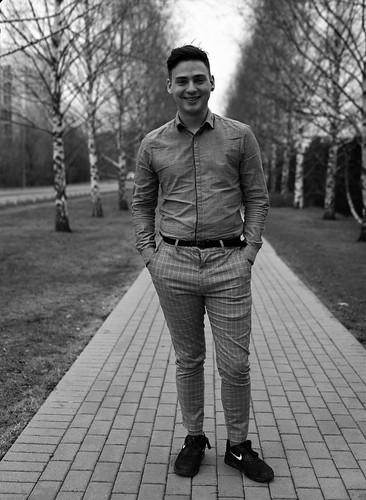 Mr. Andrey.   by Alex B/N