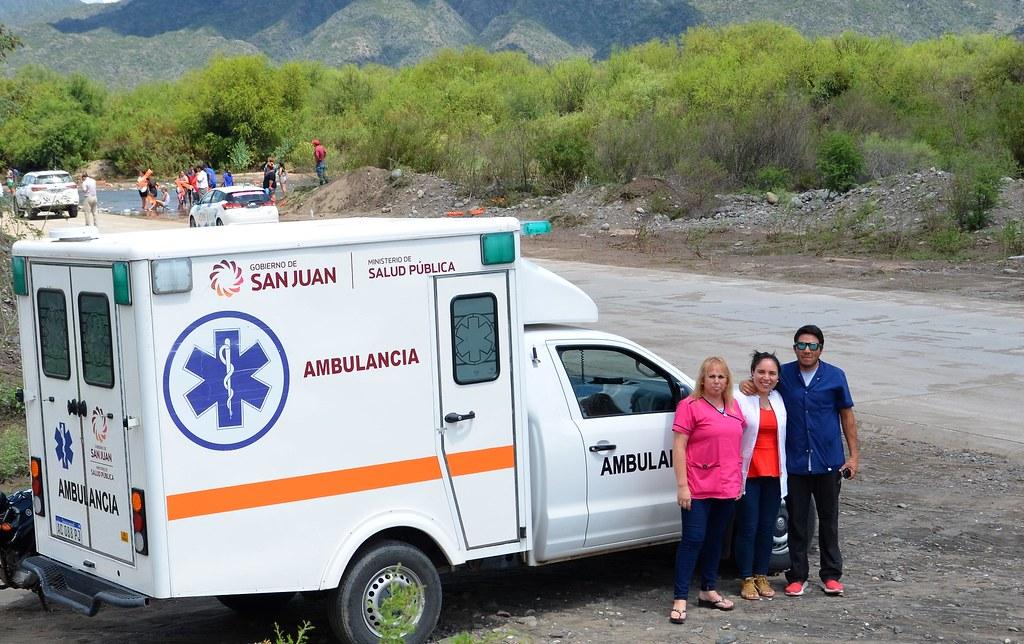2019-01-30 SALUD: Equipos Médicos en la Vuelta de San Juan
