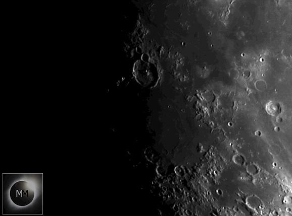 Crater Gassendi & Mare Humorum Region 15/02/19