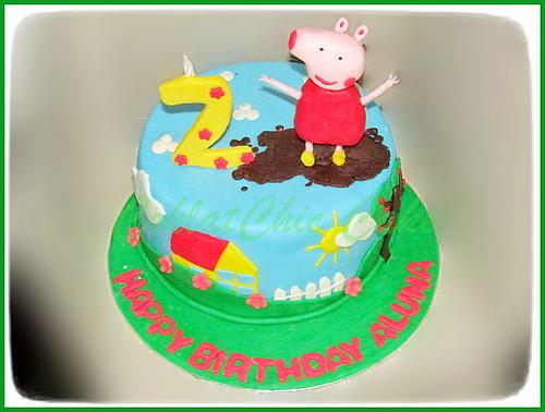 Cake Peppa The Pig ALUNA 18 cm | by KevnCealMom