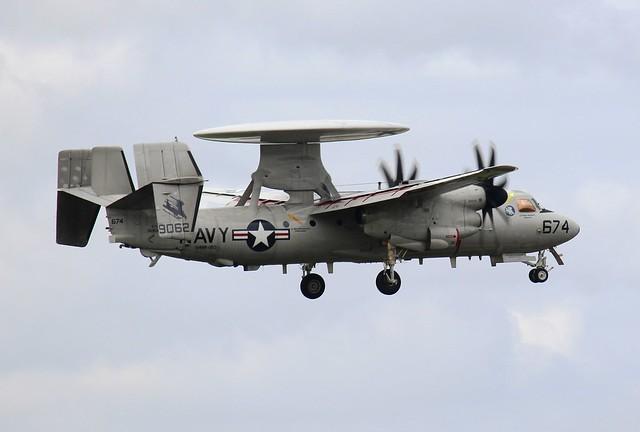 US Navy E-2D Hawkeye 674, VAW-120, #169062, (2)