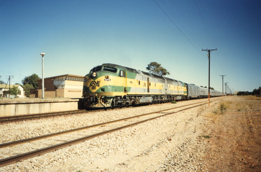 Indian Pacific @ Peterborough by Justin Cheary