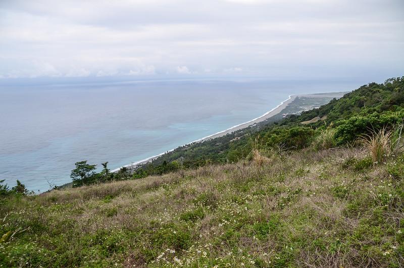 羅打結山頂俯瞰東海岸 3