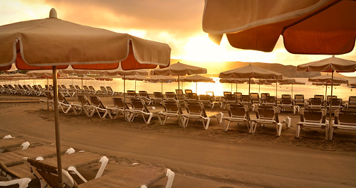 beach playa sunrise playadelasamericas tenerife teneriffa holiday islascanarias canaryislands