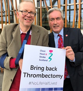 Backing Bring Back Thrombectomy campaign | by Iain Gray MSP