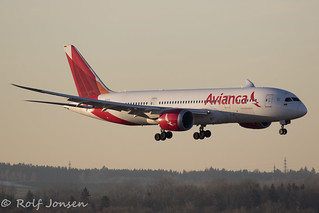 N782AV Boeing 787-8 Avianca Munich airport EDDM 17.02-19   by rjonsen