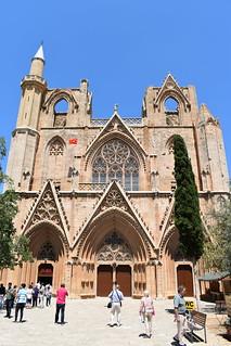 Famagusta, Lala Mustafa Pasha Mosque (formerly Saint Nicholas Cathedral)