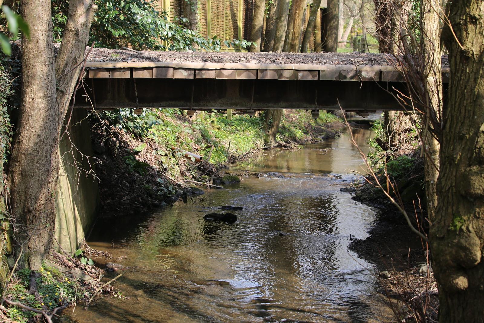 Water under the bridge near Eridge