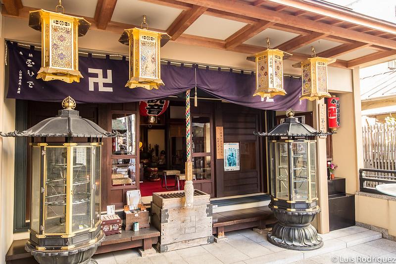 Salón del templo Okannon-ji