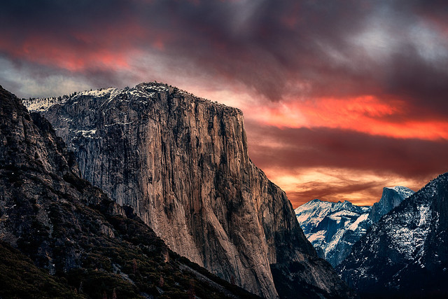 Sunrise at El Capitan