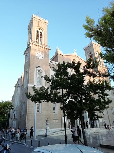 la cathédrale d'athènes deux