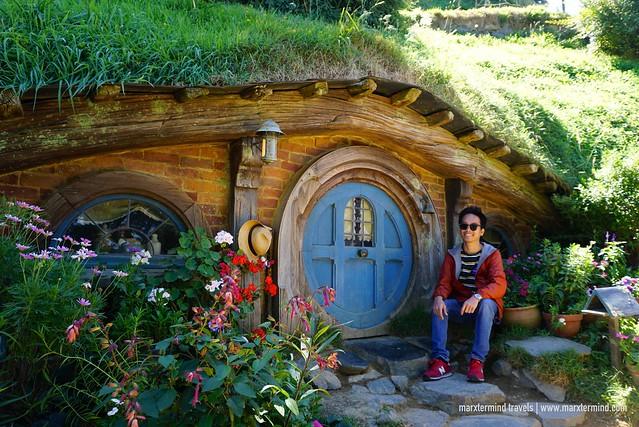 marxtermind at the Hobbiton Movie Set
