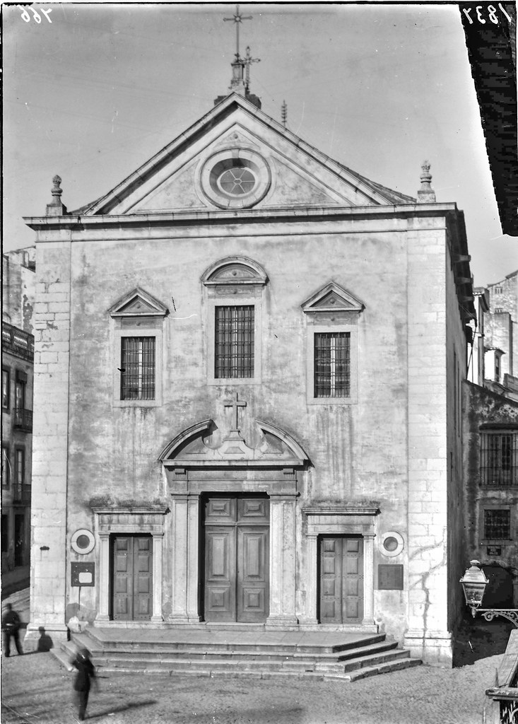 Primitiva Igreja dos Anjos, Lisboa (1907)