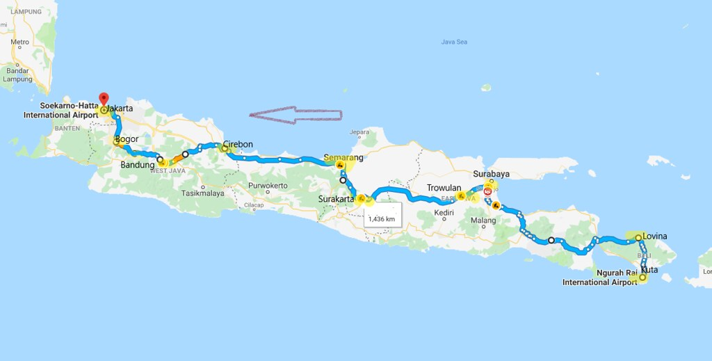 Bali Java Map Travel Plans 2019 Map Of My Travel Plans In Flickr