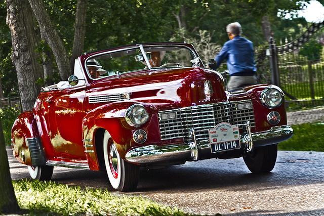 Cadillac DeLuxe Convertible Coupé 1941 (6120)