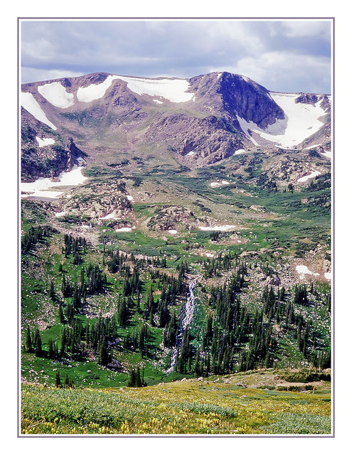 Colorado's Continental Divide at Rollins Pass - 1971