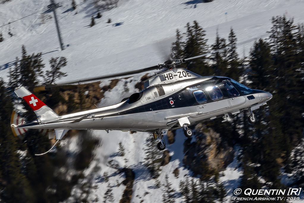Agusta A109S HB-ZQE Swift Copters Fly Courchevel Canon Sigma France French Airshow TV photography Airshow Meeting Aerien 2019