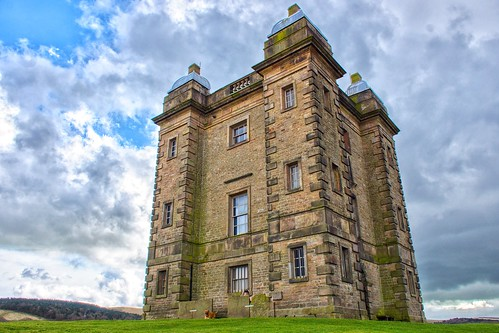 """The """"cage"""" Lyme park in Cheshire"""