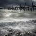 Storm over lake Konstanz