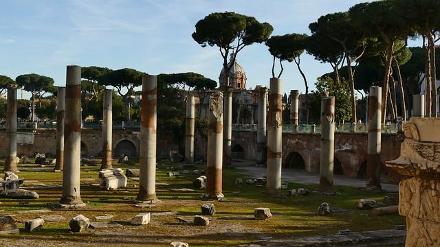 alte Säulen ....
