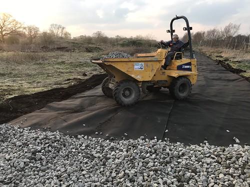 Preparing Trackbed 30-03-2019   by angus.townley