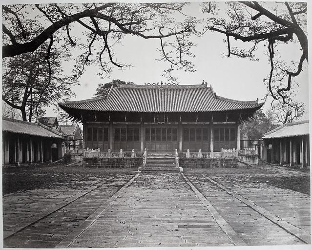 Hotz collection: Guangzhou, Confucius temple, ca. 1870
