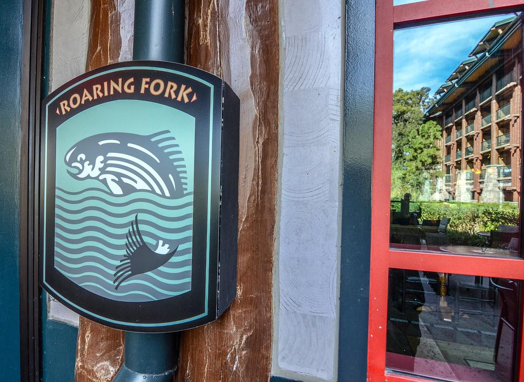Roaring Fork sign