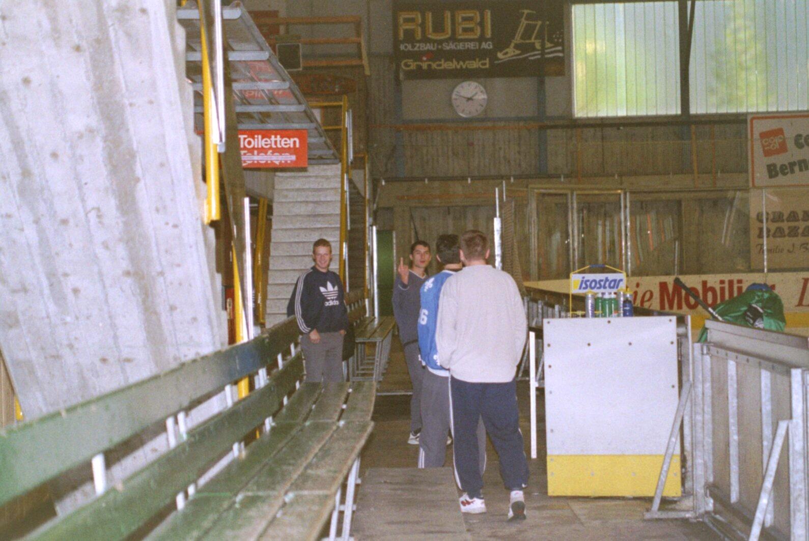 Trainingslager Grindelwald 2000