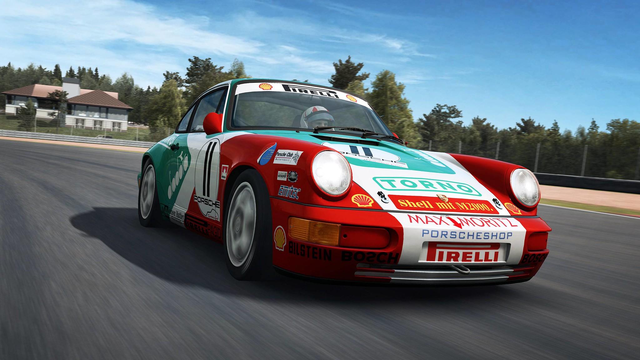 RaceRoom Porsche 911 Carrera Cup 4