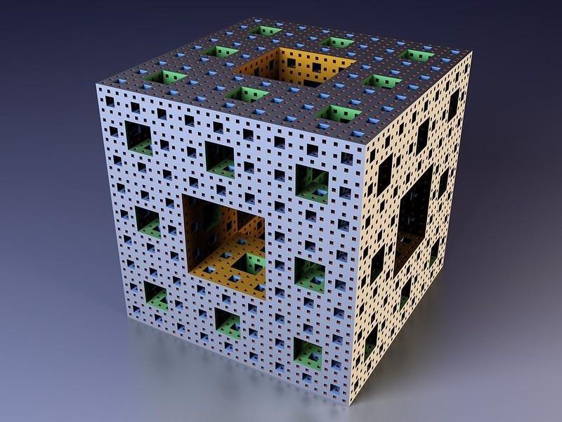 Обои куб, фрактал, мандельброт картинки на рабочий стол, фото скачать бесплатно