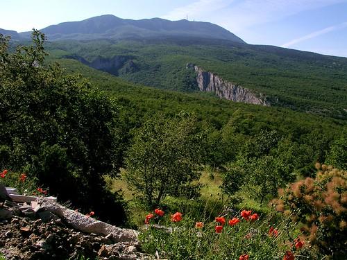 hrvatska croatia istra istria učka ucka mountain outdoors hiking landscape