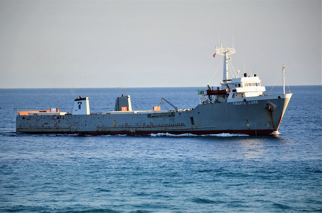 Cargo Ship- Florida, Atlantic Ocean,