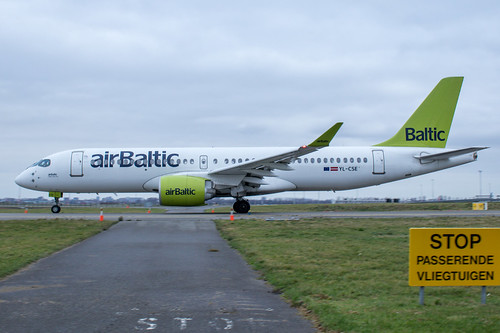 AirBaltic A220 YL-CSE | by Werner Verbogt