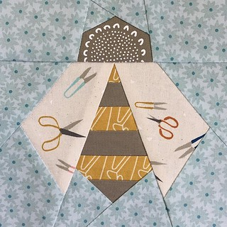 Baby Bee Quilt Block | by Modern Quilting by B