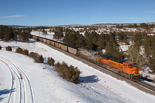 bnsf bnsf8419 emd sd70ace usafa airforceacademy colorado jointline train railroad