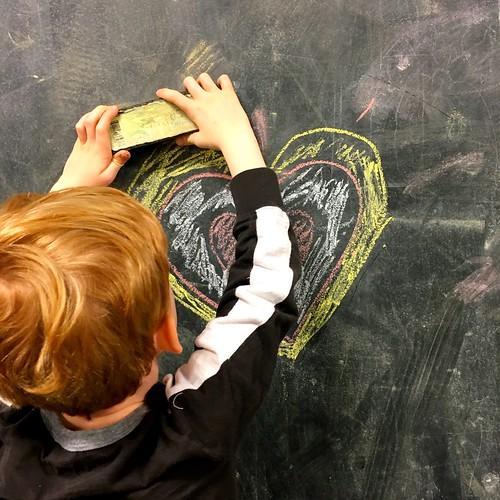 Heart collabo   by Phil Barbato