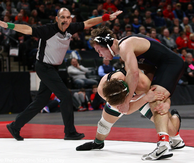 170AAA 1st Place Match - Riley Habisch (Buffalo) 39-0 won by decision over Chase Dressel (Mounds View) 44-5 (Dec 3-0) - 190302bmk0302