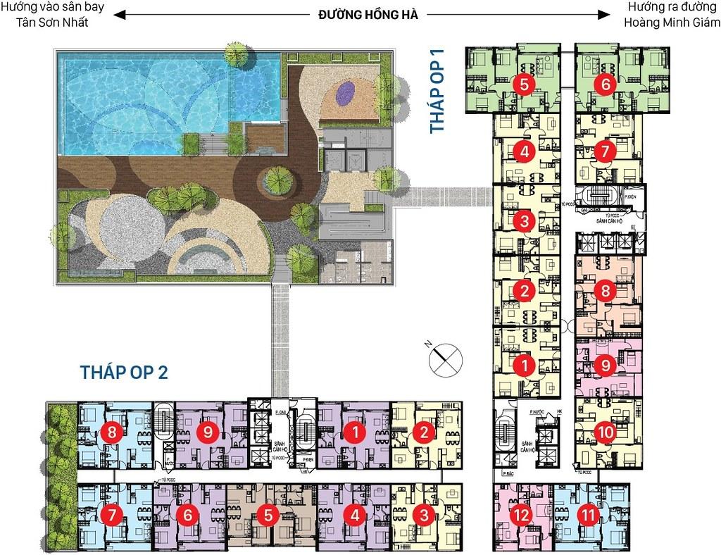thiết kế dự án Orchard Novaland