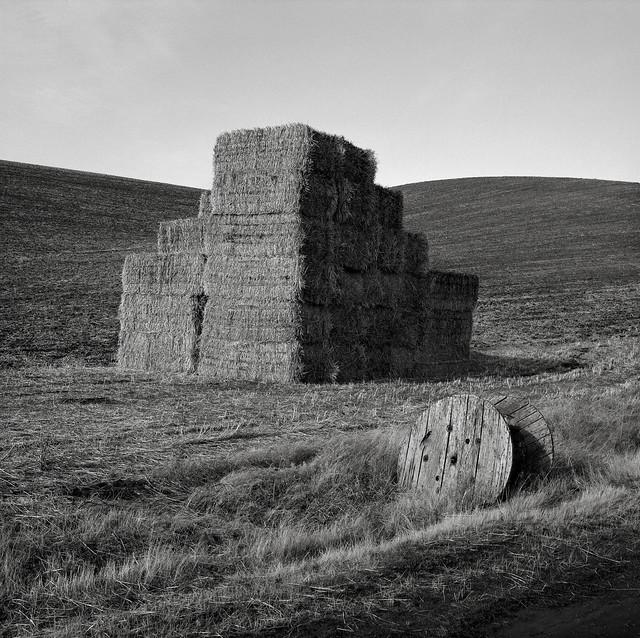 Haystack with Spool, Eastern Washington