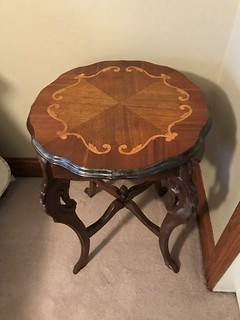 1930's lamp table   by thornhill3